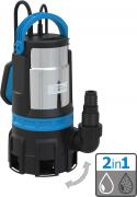Güde Kombitauchpumpe GS 750.1 2in1 Schmutzwasserpumpe Flachsaugerpumpe Wasserpumpe 16500 l/h