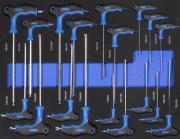 Güde Stiftschlüsselset 18 tlg. Werkstatteinrichtung Werkzeuge Werkstattwageneinsätze