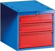 Güde Unterbau-Hängecontainer PRO SLH 2/1 Werkbank Schließfach Zylinderschloss mit 2 Schlüsseln