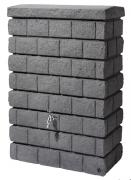 GARANTIA ROCKY JUNIOR Wandtank 300L dark granite