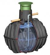 GRAF Ausbaupaket 1 mit Einlaufstutzen + Überlaufsiphon zur Kombination mit externem Filter für Platin & Carat