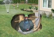 GRAF Carat-Erdtank-Paket Garten-Komfort 3750 L begehbar