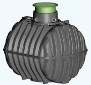 GRAF Carat Klärbehälter 2700L mit begehbarer Tankabdeckung