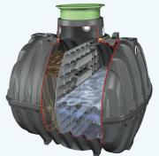 GRAF Carat Klärbehälter 4800L LKW-befahrbar