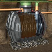 GRAF CARAT Mechanische Absetzgrube 6500 Liter max. 20 EW, Tankdom Mini und TD-Mini, begehbar