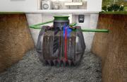 GRAF easyOne Vollbiologische SBR-Kleinklär-Einbehälteranlage 1-5 EW 3750 L begehbar
