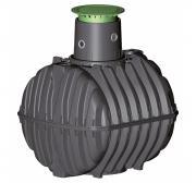 GRAF Regenwassertank Carat 13000L Set schwarz PKW- oder LKW-befahrbar Wasserbehälter