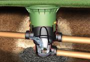 GRAF Universal-Filter 3 Extern begehbar mit Teleskop-Domschacht + Deckel, grün