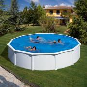 Gre Bali Pool-Set Aufstellbecken rund inkl. Sandfilterung + Zubehör (HxD) 120 x Ø 240 cm