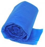 Gre Isotherm-Abdeckung für Ovalbecken blau 495 x 295 cm Polyethylen 180 g/m² Poolplane zur Wärmeerhaltung