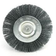 Grizzly 2 x Ersatzbürste Nylon, SB verpackt, geblistert für Grizzly Fugenreiniger EFB 401