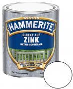 Hammerite Direkt auf Zink Metallschutz-Lack Glänzend Reinweiss 750 ml