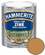 Hammerite Direkt auf Zink Metallschutz-Lack Glänzend Kupfer 750 ml