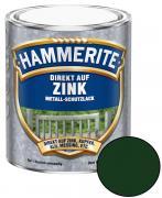 Hammerite Direkt auf Zink Metallschutz-Lack Glänzend Tiefgrün 750 ml