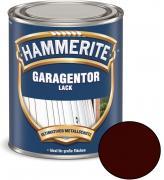 Hammerite Garagentor-Lack Seidenmatt braun 750 ml