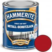 Hammerite Metallschutz-Lack Glänzend 250 ml rot