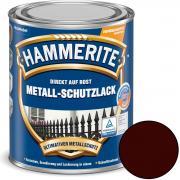 Hammerite Metallschutz-Lack Glänzend 250 ml braun