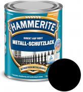 Hammerite Metallschutz-Lack Matt 250 ml schwarz