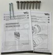 Hauff Schraubenset für Bauherrenpaket MSH Basic FUBO
