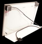 Heatfun Alu S Ständer Maße: 384x585x176m (HxBxT) Material: PMMA Klar 8mm