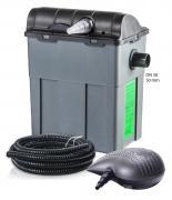 Heissner Durchlauffilter-Set 10m³ - 3300 l/h - 11W UVC