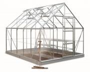 Juliana Gewächshäuser Halls Universal 108 8,3m² 3 mm Blankglas