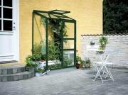 Juliana Gewächshaus Altan 2 Sektionen grün 3mm Blankglas 0,91 m²