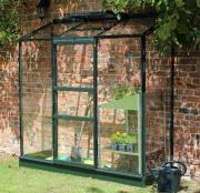 Juliana Gewächshaus Altan 3 Sektionen (1,33 m²) grün 3 mm Blankglas