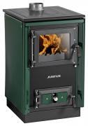 Justus Festbrennstoffherd Rustico-50 2.0 Grün 7kW