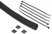 Kabelspirale schwarz 2,5m Ø 25 mm