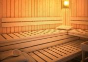 Karibu Saunazubehör Rückenlehnen und Bankblenden Set 1 Premium aus Aspe