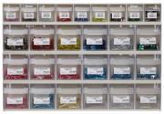 Klappboxenleiste mit Sicherungen & Elektroverbinder 414 x 601 x 94 mm 1300 Teile
