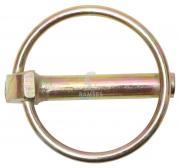 Klappstecker mit Schaft 10 x 42 mm Stahl verzinkt 10 Stück