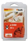 KWB 50 Holzverbinderplättchen mit Leim 55 X 8 X 4