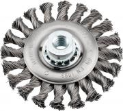 KWB Aggresso-Flex Scheibenbürste Stahldraht gezopft Ø 0,5 mm Ø 115 mm M 14 Gewinde