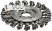 KWB Aggresso-Flex Scheibenbürste Stahldraht gezopft Ø 0,5 mm lose Ø 115 mm Gewinde 22 mm