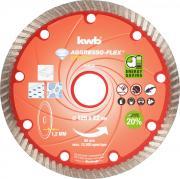KWB Aggresso-Flex® Diamant-Dünntrennscheibe Ø 125 x 22 mm Schnittstärke 7,0 x 1,2 mm