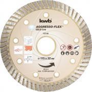 KWB Aggresso-Flex® Gold-Line Diamant Trennscheibe Ø 115 x 22 mm Schnittstärke 7,0 x 2,1 mm