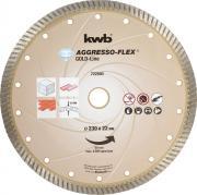 KWB Aggresso-Flex® Gold-Line Diamant Trennscheibe Ø 230 x 22 mm Schnittstärke 10,0 x 2,8 mm