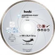 KWB Aggresso-Flex® White-Line Diamant Trennschreibe Ø 180 x 25,4/22 mm Schnittstärke 5,0 x 2,2 mm