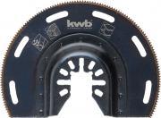 KWB Akku-Top Mutli-Tool Tauchsägeblatt halbrund Bi-Metall 87 mm Schnitttiefe 15 mm