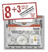 KWB Bi-Metall, HSS-CO Universal-Set, 11-tlg.