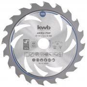 KWB Dünnschnitt-Kreissägeblatt, hartmetallbestückt, ø 150 x 20 mm