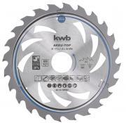 KWB Dünnschnitt-Kreissägeblatt, hartmetallbestückt, ø 173 x 30 mm