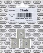 KWB Ersatzklingen für Kantenhobel 132 mm (3 Stück)