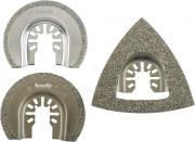 KWB Fliesen-Reparatur-Set, 3-tlg., für Fliesen und Mörtel-Reparatur- oder Umbauarbeiten