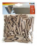 KWB Holzdübel SB-Tasche, Großpack Ø 8 mm x 40 mm (150 Stück)
