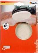 KWB QUICK-STICK Filzpolierscheibe, selbsthaftend, 115 - 125 mm