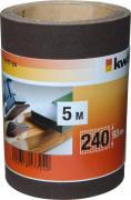 KWB Schleifmittel-Rolle Holz & Metall Korund 5,0 m x 93,0 mm K 240