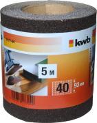 KWB Schleifmittel-Rolle Holz & Metall Korund 5,0 m x 93,0 mm K 40